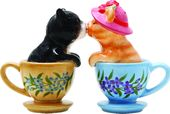 Cats - Tea Cup Kittens - Salt & Pepper Shakers