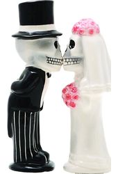 Love Never Dies - Salt and Pepper Shakers