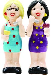 Phoney Friends - Salt and Pepper Shakers