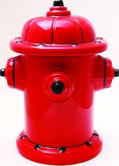 Fire Hydrant - Ceramic Cookie Jar