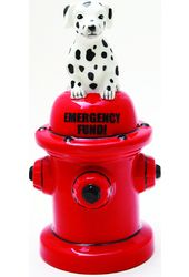 Puppy - Dalmation on Fire Hydrant - Emergency