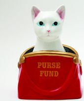 Cat - Purse Fund - Money Bank