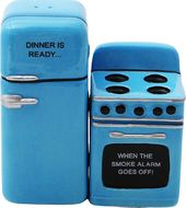 Fridge & Stove - Salt & Pepper Shakers