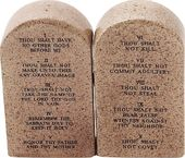 Ten Commandments - Salt & Pepper Shakers