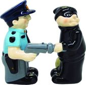 Cop and Robber - Salt and Pepper Shakers
