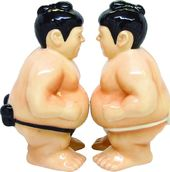 Sumo Wrestlers - Salt & Pepper Shakers