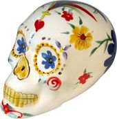 Day of the Dead - Skull - White Figurine