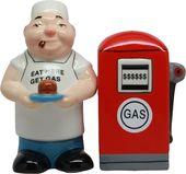 Eat Here, Get Gas - Salt & Pepper Shakers