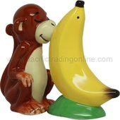 Monkey & Banana - Salt & Pepper Shakers