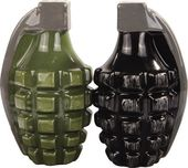Hand Grenades - Magnetized Ceramic Salt & Pepper