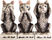 Cats - See No Evil, Speak No Evil, Hear No Evil