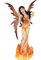 Mystical - Elemental Fairy - Fire Figurine