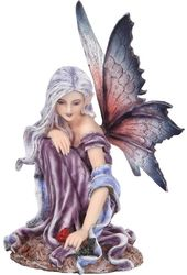 Mystical - Fairyland Fairy - Red Blossom Figurine