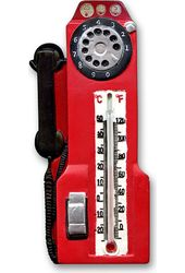 Classic Old Fashioned Memorabilia Phone Themometer