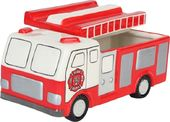 Fireman Rescue - Fire Truck - Ceramic Cookie Jar