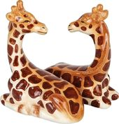 Giraffes - Magnetized Ceramic Salt & Pepper