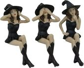 Witches - See, Hear, Speak No Evil Shelf Sitters