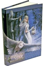 Midnight Messenger, Embossed Journal (Anne Stokes)