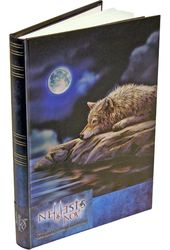 Mystical - Quiet Reflection - Embossed Journal -