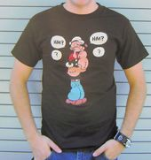 Popeye - Hm? Thinking - T-Shirt