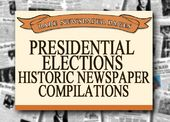Presidential Elections - Historic Newspaper