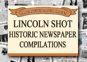 Abraham Lincoln - Shot - Historic Newspaper