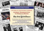 Presidential Inaugurations - Historic Newspaper