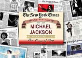 Michael Jackson - Historic Newspaper Compilations