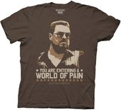 The Big Lebowski - World Of Pain - T-Shirt