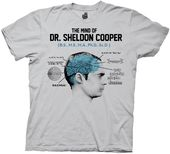 Big Bang Theory - Mind Of Dr Cooper - T-Shirt