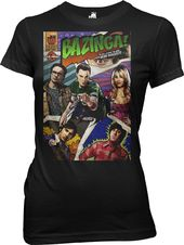 Big Bang Theory - Bazinga Comic Book Cover -