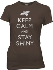 Firefly - Keep Calm And Say Shiny - T-Shirt