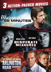88 Minutes / Desperate Measures / Arlington Road