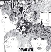 The Beatles - Revolver: Album Cover Greeting Card