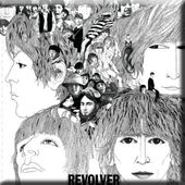 The Beatles - Revolver: Album Cover Magnet