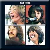 The Beatles - Let it Be: Album Cover Magnet