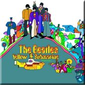 The Beatles - Yellow Submarine: Album Cover Magnet