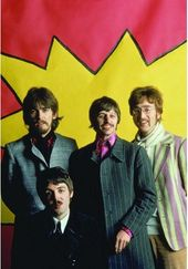 The Beatles - LSD Portrait Shot: Post Card