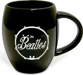 The Beatles - White On Black Bug: 12 oz. Embossed