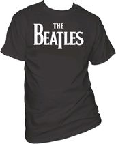 The Beatles - Drop T Logo - T-Shirt