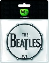 The Beatles - Drum Logo: Car Magnet