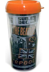 The Beatles - Live in Liverpool 16 oz. Travel Mug