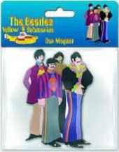 The Beatles - Yellow Submarine: Band Car Magnet