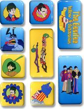 The Beatles - Yellow Submarine Magnet Set