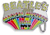 The Beatles - Magical Mystery Tour Belt Buckle