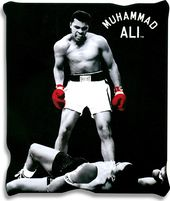 "Muhammad Ali - Micro-Plush 50"" x 60"" Throw Blanket"
