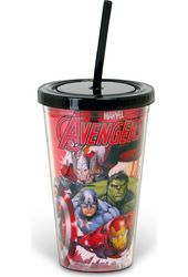 Marvel Avengers in Flight 1 - 16oz Plastic Cold