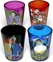DC Comics - Batman - Villains - 4-Piece Colored