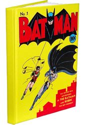 "DC Comics - Batman - #1 6"" x 8"" Hard Cover Journal"