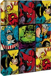 DC Comics - Characters Grid - Hard Cover Journal
